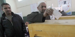 Egyptians vote in landmark presidential election