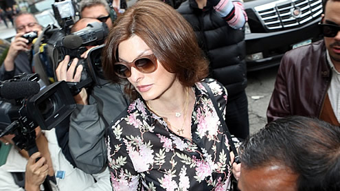 Supermodel Evangelista: French billionaire wanted abortion