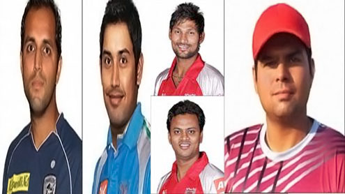Five Indian players suspended on corruption allegations