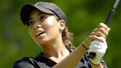 Golf: Tiger Woods' niece Cheyenne tees off