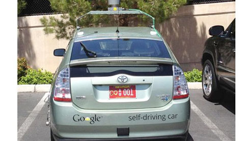 Google'S first self-driven car gets license