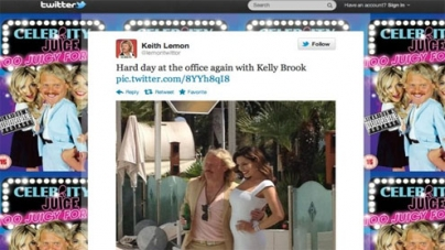 Kelly Brook's dress causes a stir: Twitter highlights from Cannes