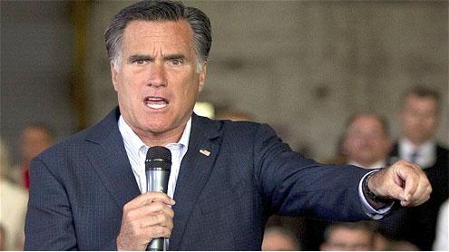 US election: Mitt Romney leads Republican attack on Barack Obama and gay marriage