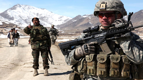 Americans in Afghanistan to fight through 2014, top commander says