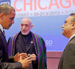 Obama meets Pakistan's Zardari, but no deal on war supply routes