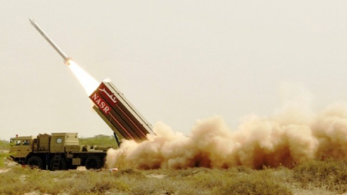 Pakistan successfully tests nuclear capable Hatf IX Nasr missile