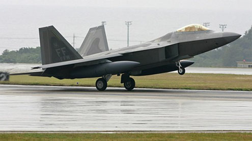 Panetta Demands F-22 Raptor Fighter Fixes After Mid-Air Scares