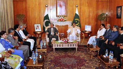 President chairs meeting to review energy situation