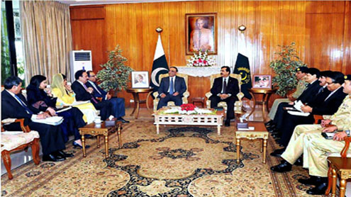 President, PM chair high-level meeting