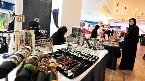 Only Saudi saleswomen at cosmetic shops from June 30