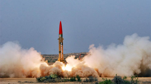 Pakistan successfully testfires Hatf III billistic missile