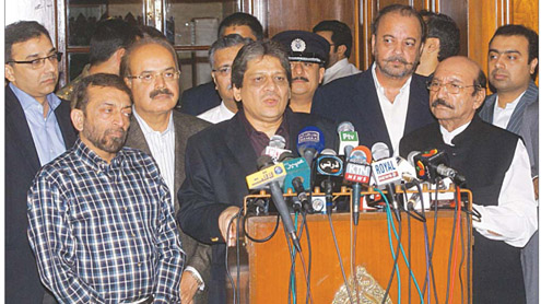 Sindh Solidarity Conference PPP, MQM held responsible for rally attack killings