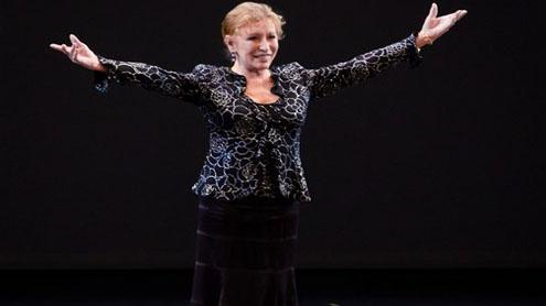 Soviet Ballerina Gets N.Y. Tribute