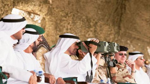 Dazzling display of UAE's military might