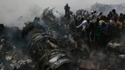 153 killed as plane crashes in Lagos