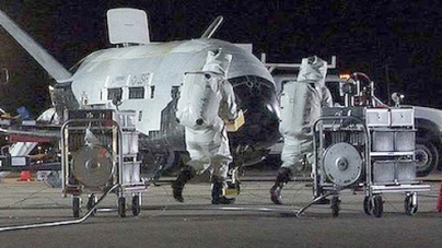 Air Force's Mysterious Mini-Space Shuttle Set to Land