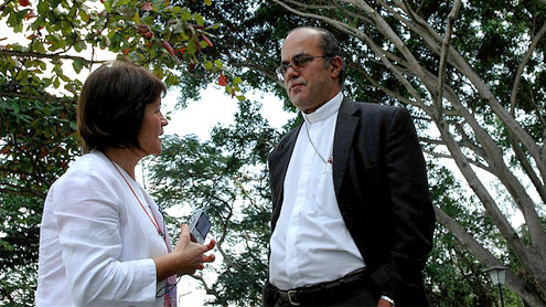 Argentine Bishop Bargallo quits over 'amorous ties' row