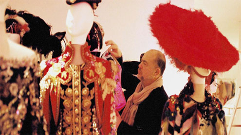 Christian Lacroix ballet designs go on display in France