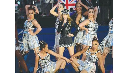 Stars perform at Diamond Jubilee concert