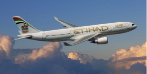 Etihad Airways records flight bookings