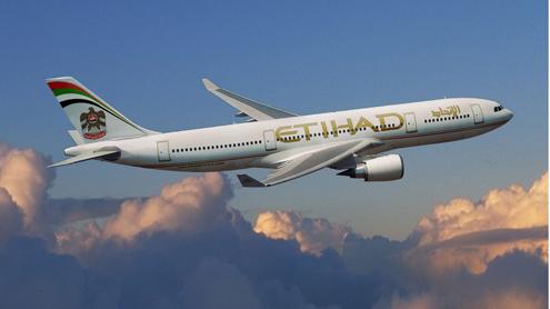 Etihad Airways records flight bookings