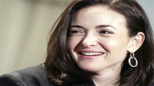 Facebook names 1st woman, Chief Operating Officer Sheryl Sandberg, to its board