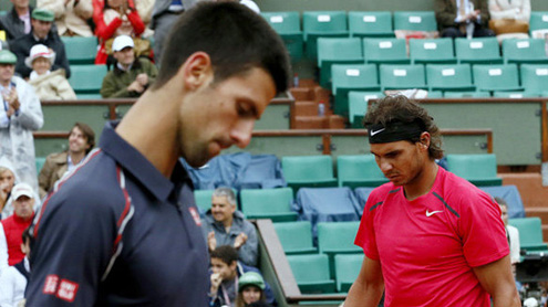 Nadal vs Djokovic : French Open final postponed
