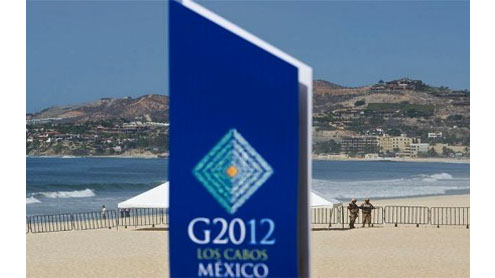 World leaders begin arriving Mexico for G20 summit