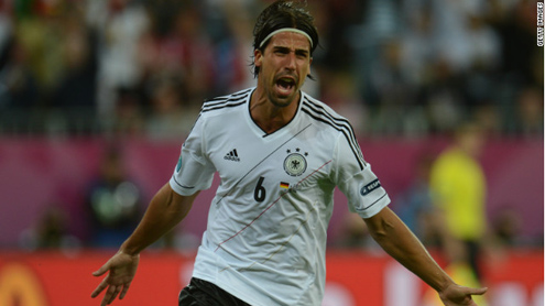Germany knock Greece out of Euros