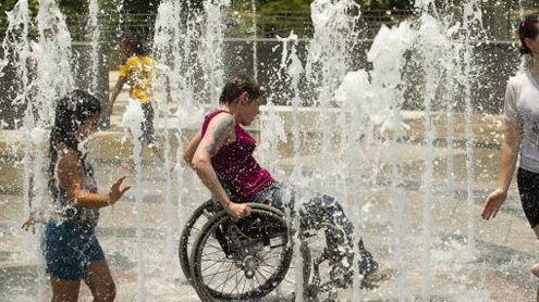 Intense heat bakes tens of millions in U.S., spawns potent storms
