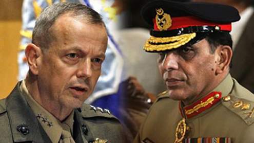Kayani, Allen discusses cross-border incursions