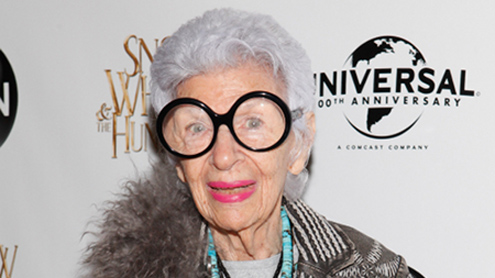 Iris Apfel: Enormous women should cover up