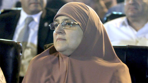 Egypt president's wife: Don't call me first lady