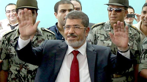 Mursi wins Egypt presidential election