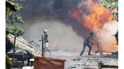 Muslim, Buddhist mob violence threatens new Myanmar image