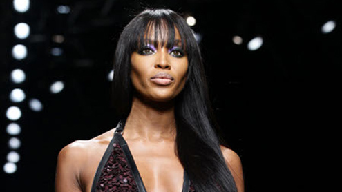 Naomi Campbell is hard worker