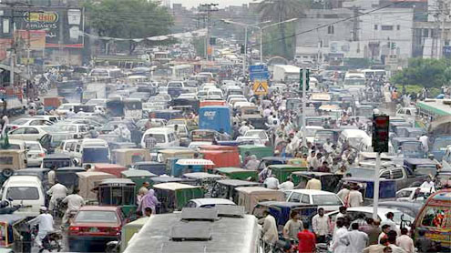 PML-N rally causes traffic jam, panic in Lahore
