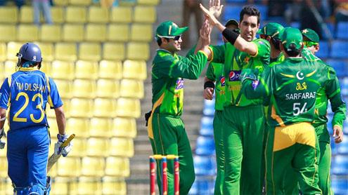 Pakistan down Sri Lanka in 1st ODI