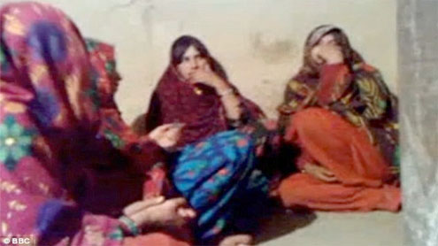 Pakistan wedding women alive, rights campaigners say