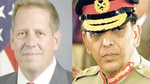 Kayani turns his back on US envoy