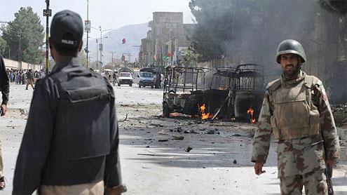 At least 14 killed in Quetta blast