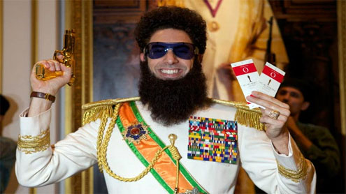 The Dictator banned in more countries