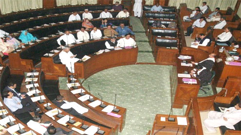 Sindh Assembly session :Talk on law, order situation dominates budget discussion