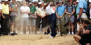 Tiger conjures up a little magic