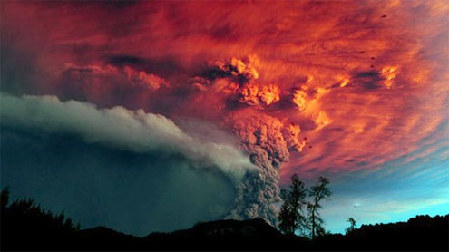 This Is the Way the World Ends? Volcanoes Could Darken World