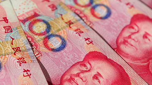 Yuan dives vs dollar after holiday, spot near 7-month low