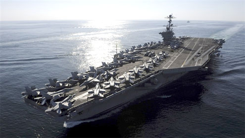 Pentagon Sends Carrier to the Middle East Early