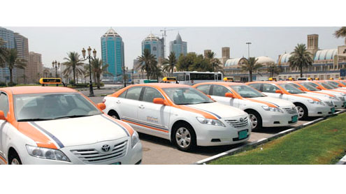 Dh5m bonus paid to taxi owners