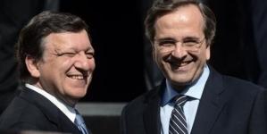 Greece PM Antonis Samaras in crunch bailout talks