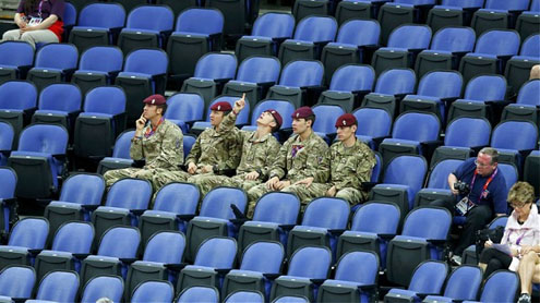 London 2012 Olympics: 'fiasco' of the 12,000 empty seats
